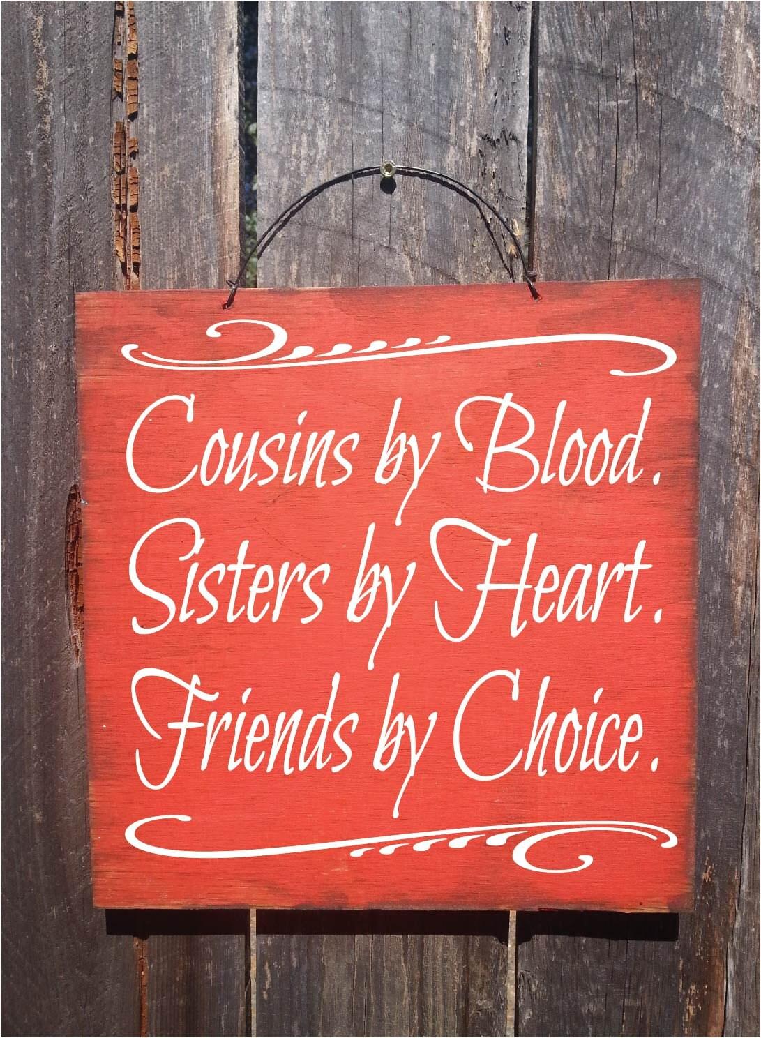 Cousin Cousin Gift Cousins Big Cousin Cousin Sign Cousin Quote