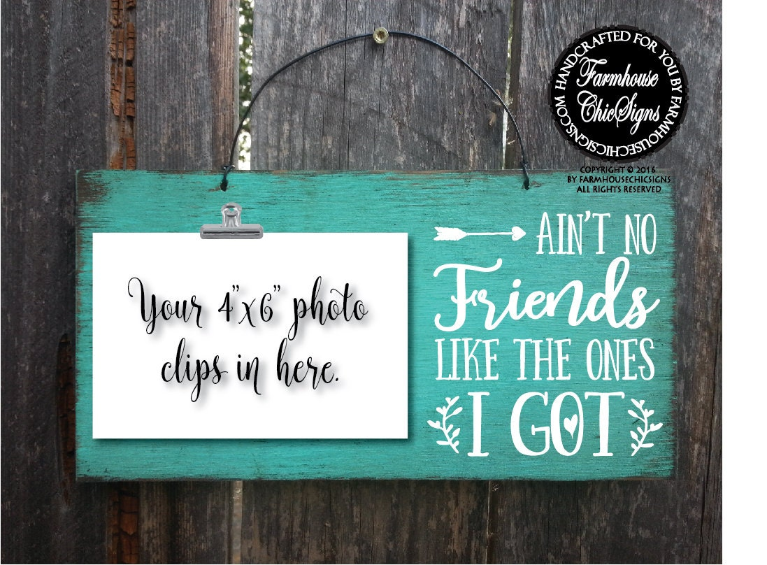gift for friend Christmas gift for friends ain\'t no friend like the ...