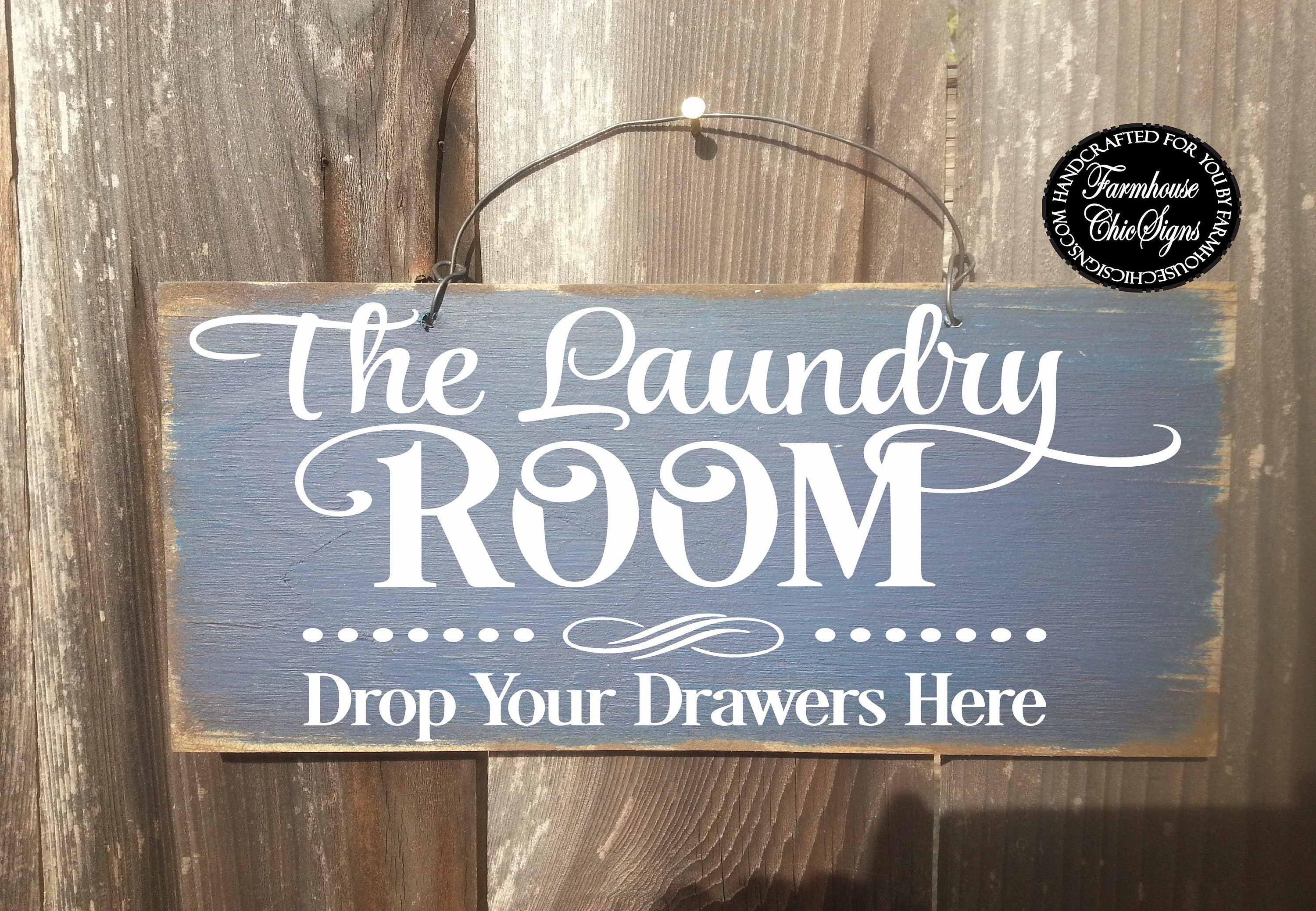 Laundry Room Laundry Sign Laundry Room Decor Laundry Room