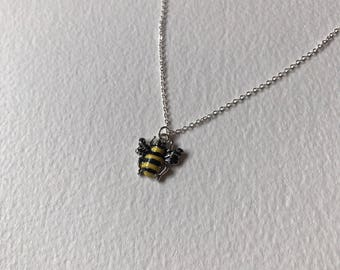 Manchester Bee charm necklace #WeStandTogether