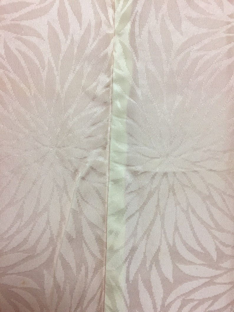HAORI Shibori Tie dye   two weirs   Japanese  silk orange mint condition