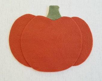 DIGITAL FILE - Felt Pumpkin