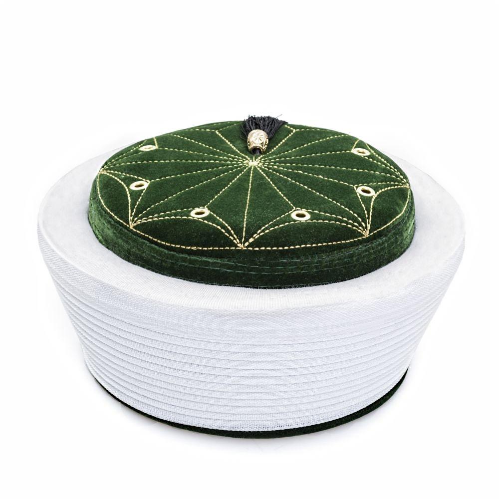 Lux Green Velvet Imamah Pecinya Sorban Kufi Cap Muslim Etsy Long Black Shirt