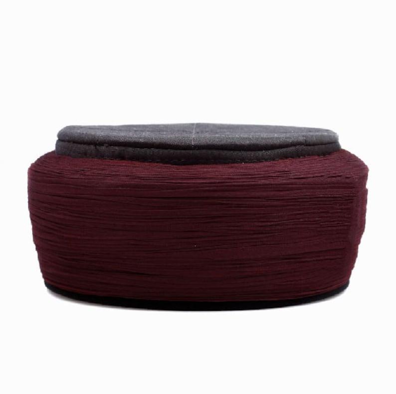 SWG-HH-GGSURQ03 Sparkly Pink Rose Crocheted Earmuffs Headband