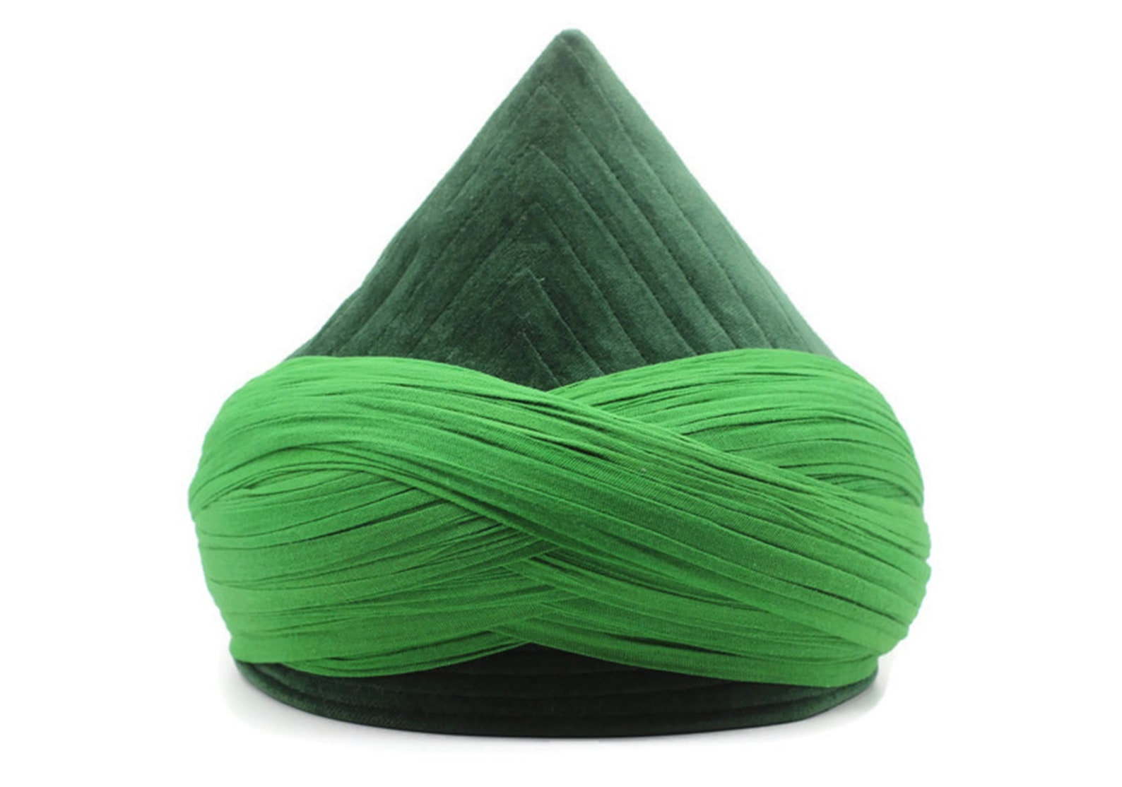 green mens haqqani imamah cyprus style islamic cap unique