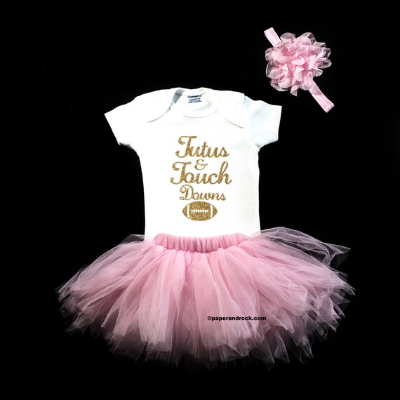 a5be84696 Baby Girl Football Outfit Baby Girl Clothes Tutus and