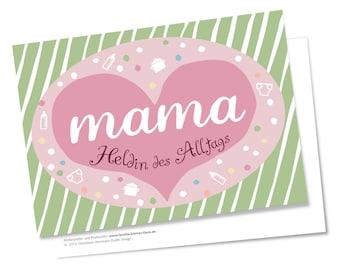 Muttertag Karte Geburtstagskarte