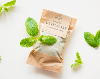Herbal Bath Salts,Herbal Bath Soak,Bath Soak,Natural Bath Salts, Spa,Detox Bath Salts,Bath Salts with Milk,Coconut Milk Bath,Flu Bath Salts