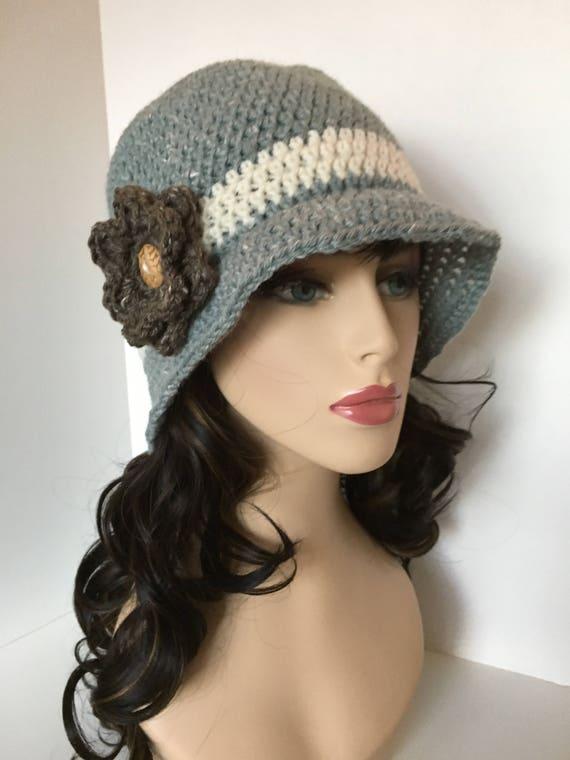 Women s Sun Hat Spring Hat Hemp Hat Crochet Women s  fc34c113b6