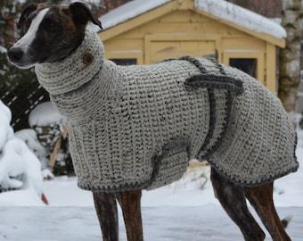Greyhound Jumper Greyhound Sweater Greyhound Coat Etsy