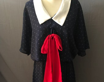 Vintage 1970's Sailor Dress