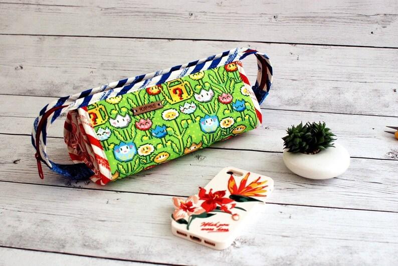 Sew Together Bag Mario Brothers Nintendo Gamer Gaming Bag image 0