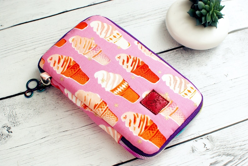 Day Trip Wallet Clutch Ruby Star Society Ice Cream Pink Cell image 0