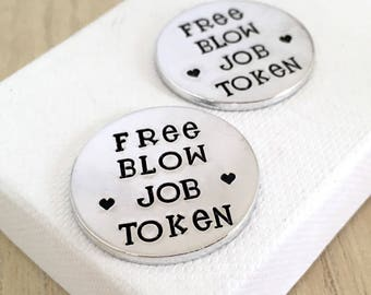 Free Blow Job Token Sexy Gifts For Groom Husband Sex Valentines Day Rude Birthday Gift Adult Toys