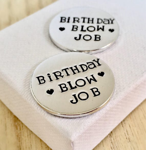 Birthday Blow Job Love Token Rude Gift Funny Gifts For