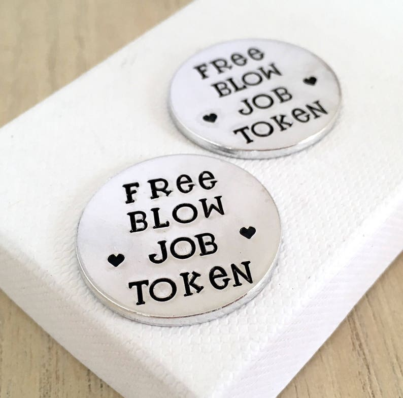 Free Blow Job Token Sexy Gifts For Groom