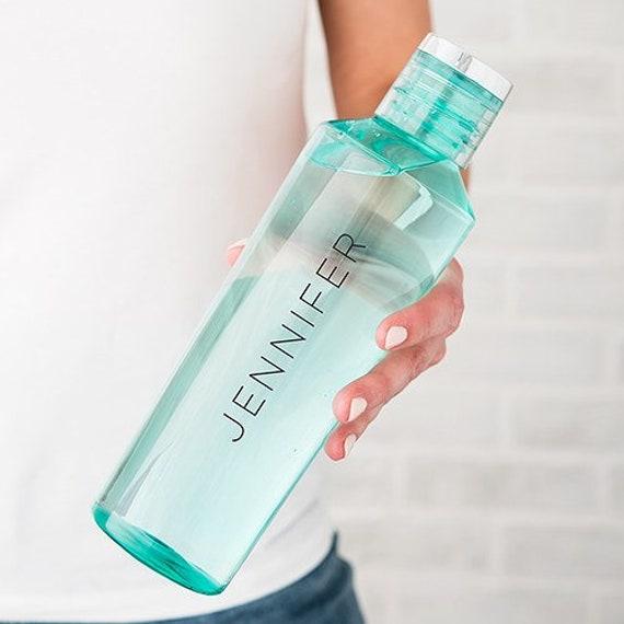 Custom Water Bottle  Personalized  Plastic  Water Bottle
