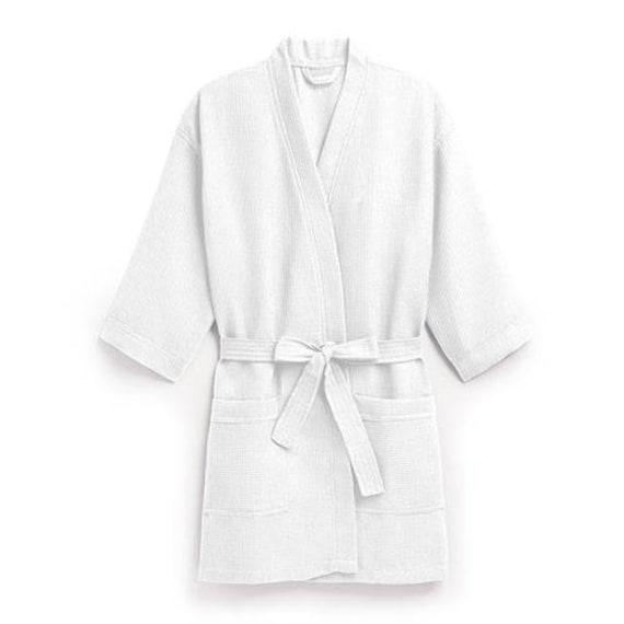Personalized Waffle Robe White Kimono White Robe  e7f3fca3c