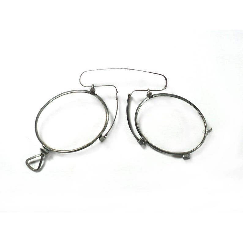 5e3db47e716 French Antique Pince-Nez Lorgnons Victorian Pair of Glasses