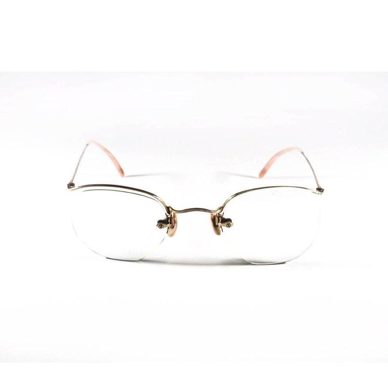 c21270de88 French Vintage Amor Frame Pair of Glasses Vintage Pink