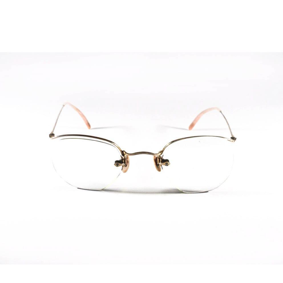 0c1a968af77e French Vintage Amor Frame Pair of Glasses Vintage Pink