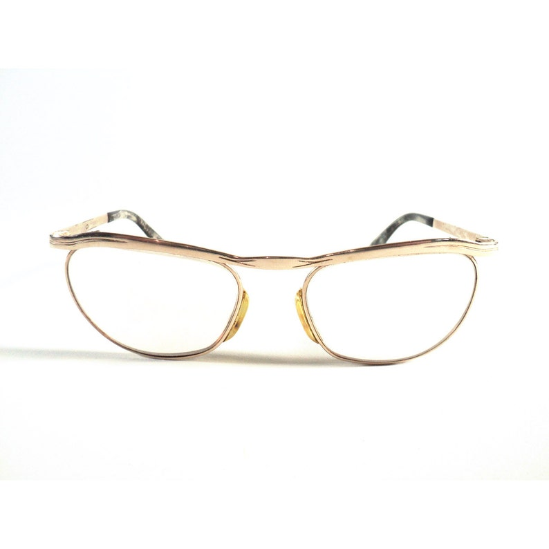 4b949c3422fe Marwitz Optima Pair of Glasses Vintage Eyewear German Gold