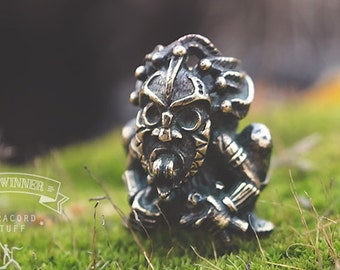 VooDoo - Paracord Knife Lanyard Bead in Bronze