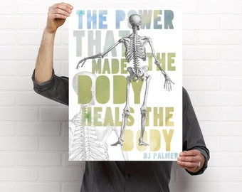 The Power Chiropractic Artwork