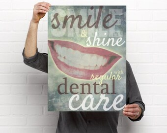Smile and Shine Dental Artwork