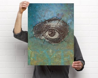 Human Eye Eyecare Optometry Artwork