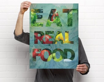Eat Real Food Artwork
