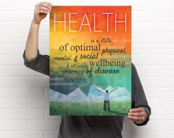 What is Health Chiropractic Medical Poster Artwork