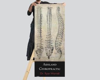 Customizable Chiropractic Banner