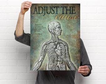 Adjust the Cause Chiropractic Artwork