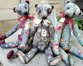 """Pekan 40cm / 16"""" Bear Pattern"""
