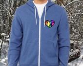 Unisex LGBT Love Heart Hi...