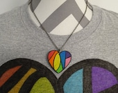LGBT Love Necklace - Hidd...