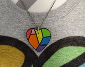 LGBT Ally Necklace - Hidd...