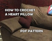 How to Crochet a Heart Pi...