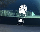 Paw Print Decal - Dog Lov...