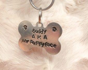 custom dog tags etsy