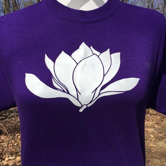 Magnolia Flower Shirt Magonlia Apparel Magnolia Shirt Etsy