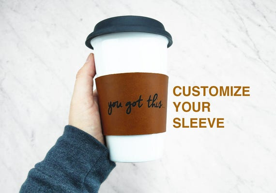 Custom Reusable Coffee Sleeve