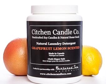 1kg Grapefruit & Lemon Natural Laundry Detergent