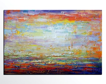 Attraktiv Leinwand Wandkunst, Ölgemälde, Leinwand Kunst, Große Kunst, Originale, Abstrakte  Wandkunst, Wohnzimmer Wand Kunst, Abstrakte Wand Kunst, Abstrat Kunst