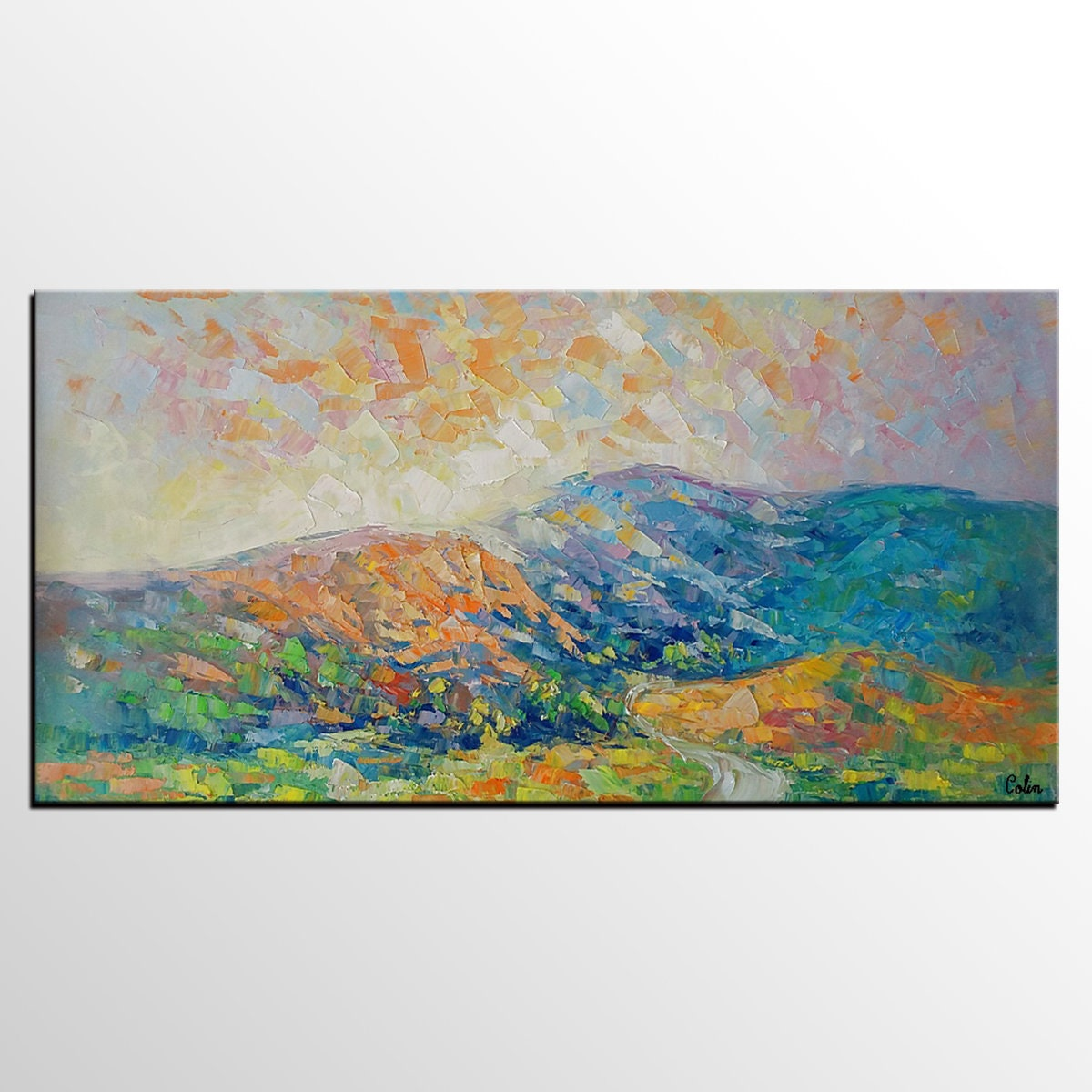 Oil Painting Landscape Canvas Art Bedroom Wall Art