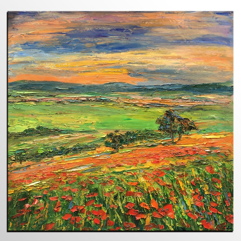 Custom Extra Large Painting Oil Painting Landscape Mountain image 0
