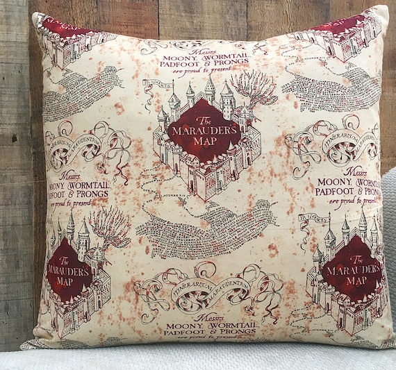Potter pillow case | Etsy