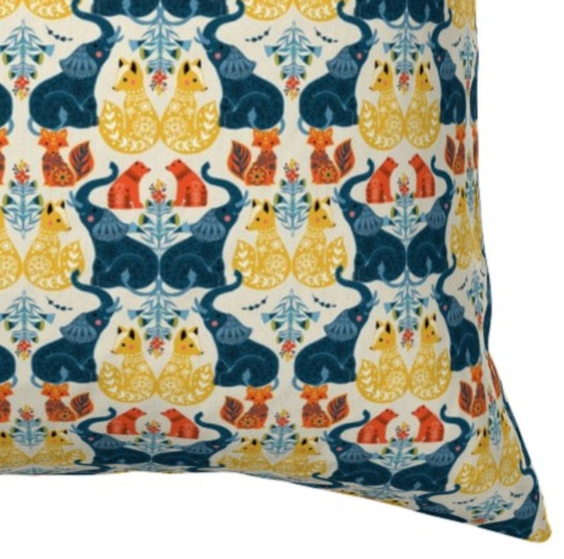 | Ready to Ship Woodland Nursery Pillow Baby Shower Gift Cover Boho Baby Boy Bohemian Boy Nursery Free Shipping HOME DECOR SALE