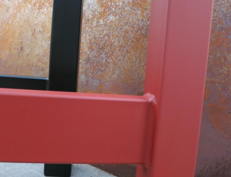 H Shape Metal Table legs Set of 2